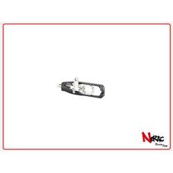 TEYA008NER - Tenditore Catena Yamaha R6 (17) Cp Con Supporto Pinza Freno Posteriore / NERO OPACO