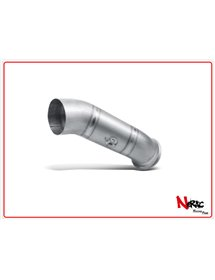 Tubo di raccordo titanio non omologato Akrapovic Ducati Hypermotard / Hyperstrada 13-18