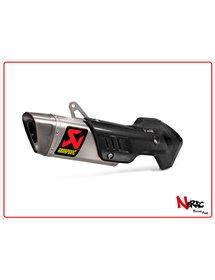 Silenziatore omologato titanio Akrapovic Ducati Multistrada 1200 / 1200S 15-17 – 1260 / 1260S 18-20
