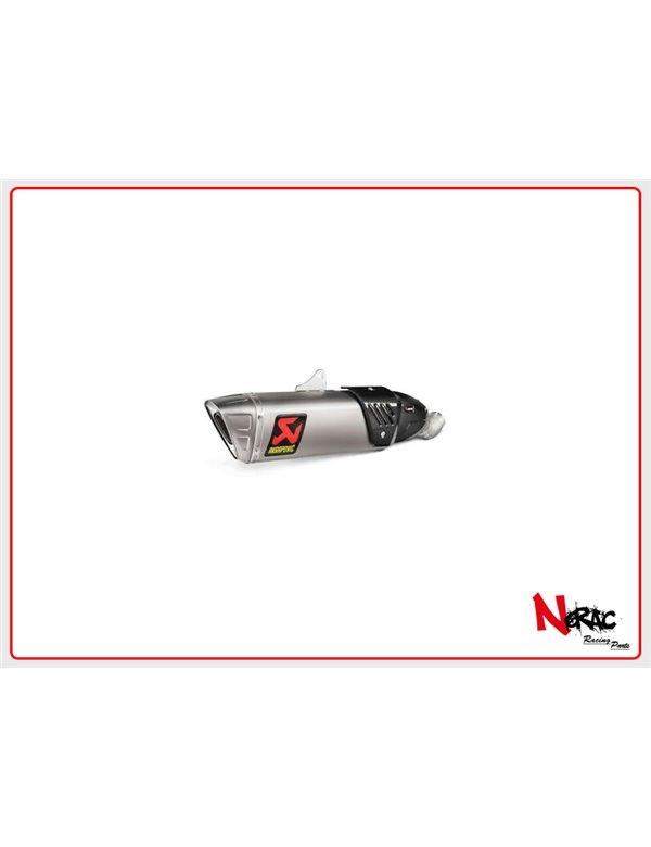 Silenziatore omologato titanio Akrapovic Honda CBR 1000 RR / CBR 1000 RR ABS 17-19