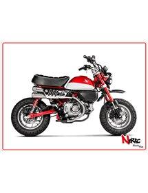 Linea Slip-On omologato inox Akrapovic Honda Monkey 19-20