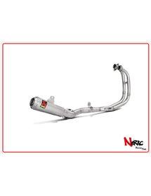 Scarico completo non omologato Akrapovic Yamaha YZF-R 25 14-20 / YZF-R3 15-21 / MT03 16-18