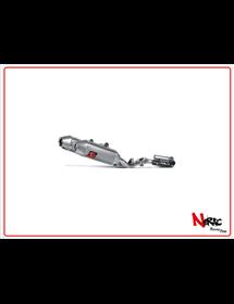 Scarico completo inox non omologato Akrapovic Honda CRF 450 R / RX 15-16