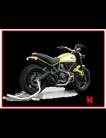 Terminale Evoxtreme 260 mm Black Hp Corse Ducati Scrambler 803 2015/2016