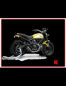 Terminale Evoxtreme 260 mm Satin Hp Corse Ducati Scrambler 803 2015/2016