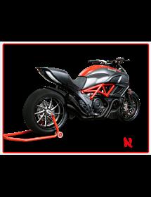 Terminale Hydroform Black Hp Corse Ducati Diavel 2011/2016