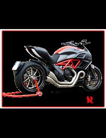 Terminale Hydroform Satin Hp Corse Ducati Diavel 2011/2016