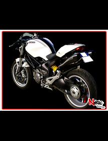 Terminale Hydroform Black Hp Corse Ducati Monster 1100-769 2010/2014 – 696 2008/2014