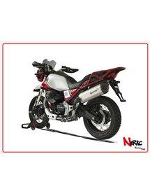 Terminale SPS Carbon Satin Hp Corse Moto Guzzi V85 TT