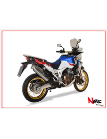 Terminale 4-Track R Satin Hp Corse Honda CRF 1000 Africa Twin 2016 Up