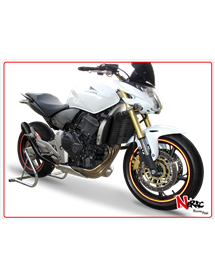 Terminale Hydroform Black Hp Corse Honda Hornet 600 2007/2013