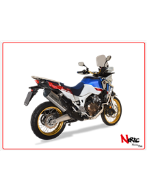 Terminale SPS Carbon Satin Hp Corse Honda CRF 1000 Africa Twin 2016 Up