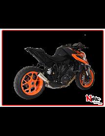 Terminale SPS Carbon Short Black Hp Corse KTM 790 Adventure / R