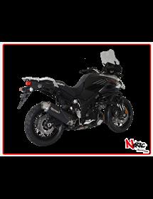 Terminale 4-Track R Black Hp Corse Suzuki V-Strom 1000 2017 Up