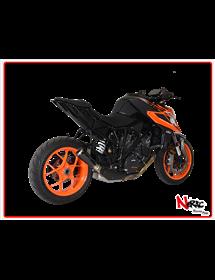 Terminale GP07 Black Hp Corse KTM Superduke 1290 R 2017 Up