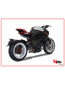 Terminale GP07 Black Hp Corse MV Agusta Dragster 800 / RR 2017 Up