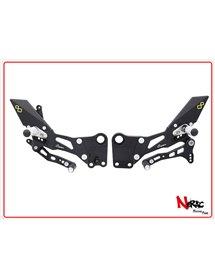 FTRKT001 - Pedane Regolabili Con Poggiapiede Fisso – KTM RC 125 / 200 / 390