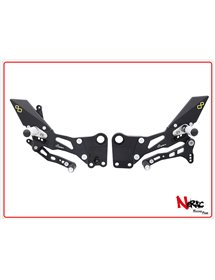 FTRKT001W - Pedane Regolabili Con Poggiapiedi Snodati – KTM RC 125 / 200 / 390