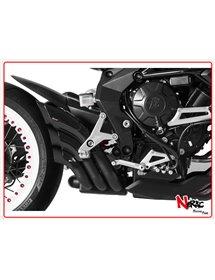 Terminale Hydrotre Black Cover Carb Hp Corse MV Agusta Turismo Veloce
