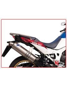 Silenziatore Titanio Omologato Termignoni Honda CRF 1000L AFRICA TWIN 18-19