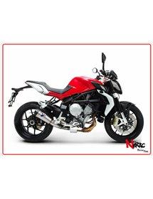 Silenziatore Conico Racing Full Tiatnio Termignoni MV Agusta Brutale B3 675 / 800 Rivale 800 12-20