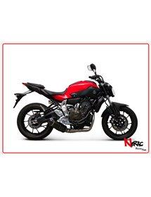 Scarico completo Carbonio Omologato Termignoni Yamaha XSR700 / MT07 / XSR900 14-20