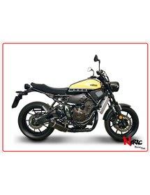 Scarico completo Full Black Omologato Termignoni Yamaha XSR700 / MT07 / XSR 900 14-20