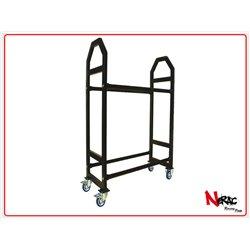 RSA13 - Carrello Porta Cerchi In Alluminio